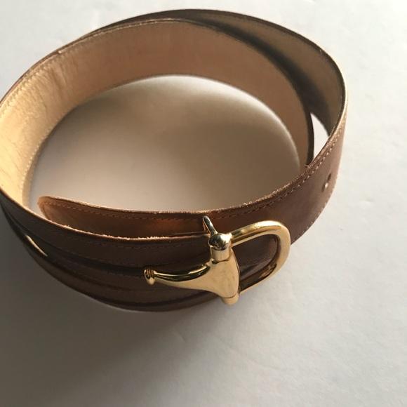 9b511d6bef1 Gucci Accessories - Gucci Vintage Horsebit Belt
